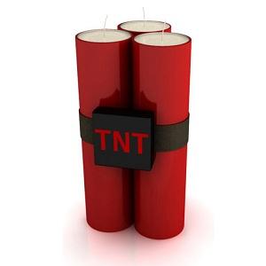 bougie dynamite TNT