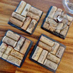 Dessous de verre vin