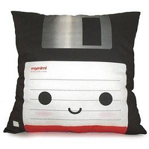 disquette coussin floppy pillow