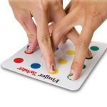 finger twister jeu doigt