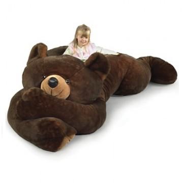 ours en peluche geant nounours