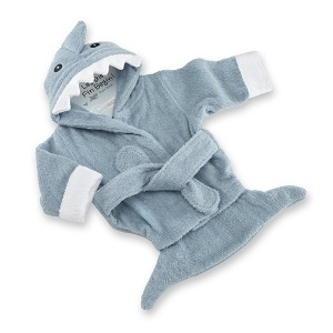 peignoir bebe nourrisson requin