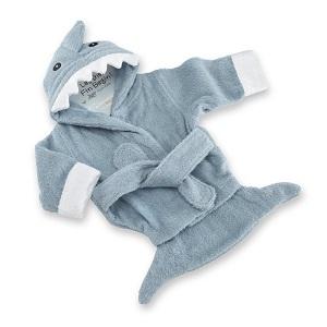 peignoir bebe nourrisson requin