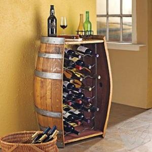 tonneau rangement de vin