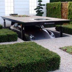 Garage sous-terrain