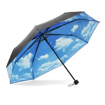 parapluie-beau-temps-ciel-bleu-nuage
