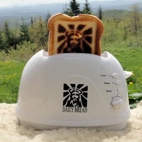 Jesus-grille-pain-Toaster