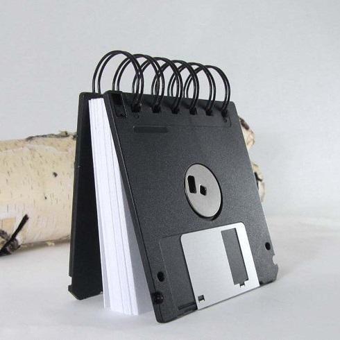 bloc-note-carnet-disquette-note