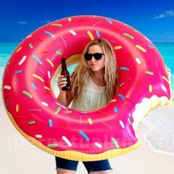 Bouée géante Donut's gonflable