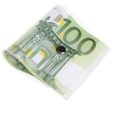 cale porte billets de 100 euros bloquer la avec une liasse. Black Bedroom Furniture Sets. Home Design Ideas