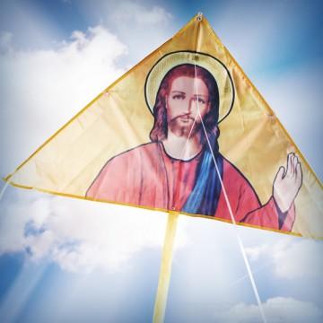 cerf-volant-jesus-pape