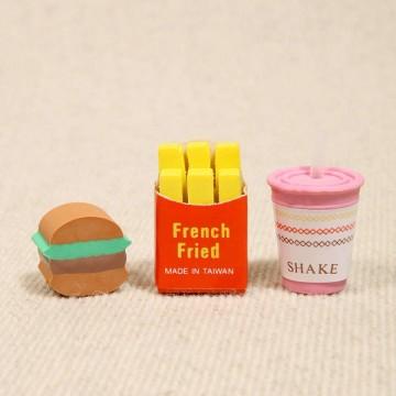 gomme-menu-hamburger-frite-boisson-fast-food