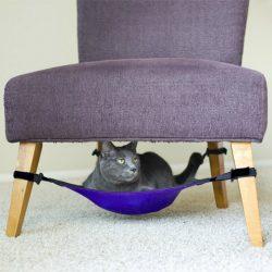 Hamac de chaise pour chat