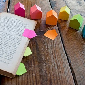 marque-page-post-it-maison
