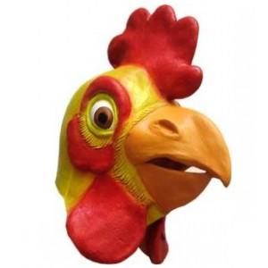 masque-poulet-en-caoutchouc