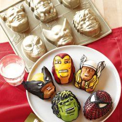 Moule à gâteaux Super-héros