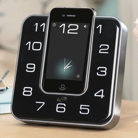 radio-reveil-iphone-ipod-design