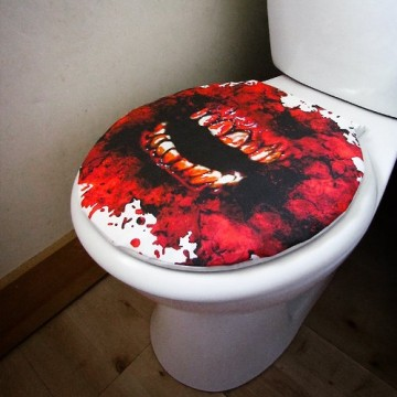 recouvrement-coton-toilette-zombie-sang-machoire