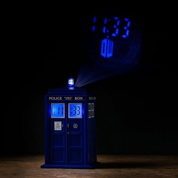 reveil-tardis-projection-mur-doctor-who