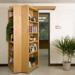 Bibliothèque amovible