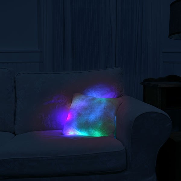 coussin lumineux un puits de lumi re led design pour. Black Bedroom Furniture Sets. Home Design Ideas