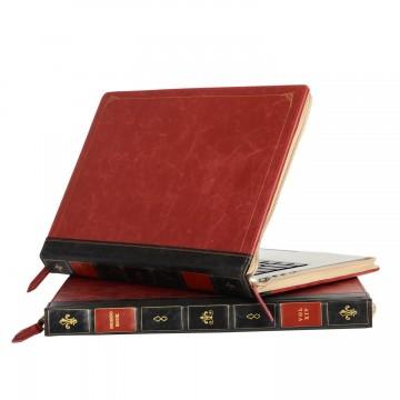 housse-apple-livre-ancien-ordinateur-portable