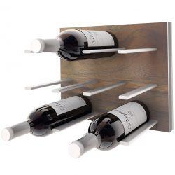 Rangement mural pour bouteilles de vin