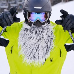 Beardski, la barbe masque de ski