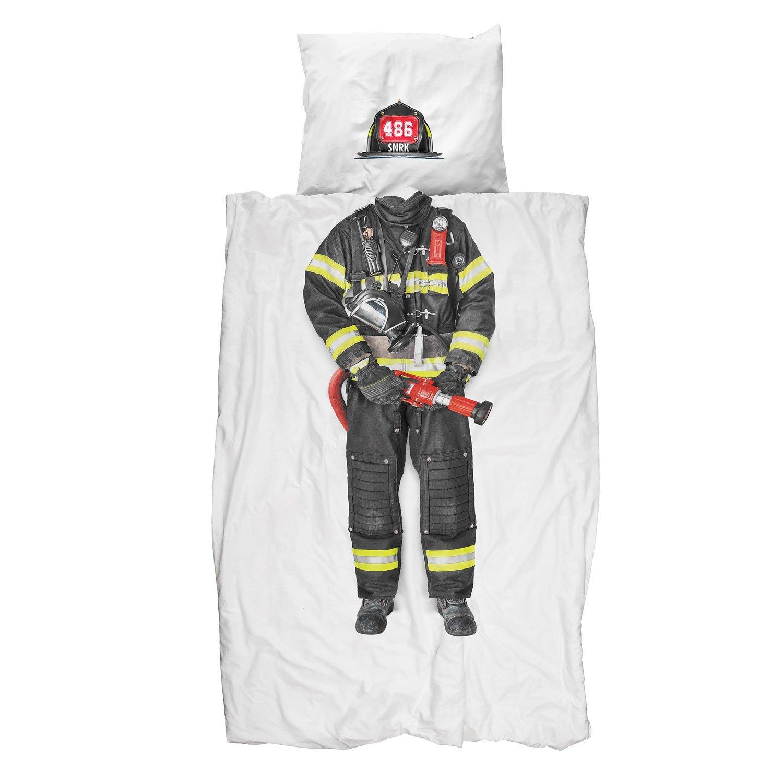 Housse de couette pompier avant j 39 tais riche - Housse de couette adulte ...