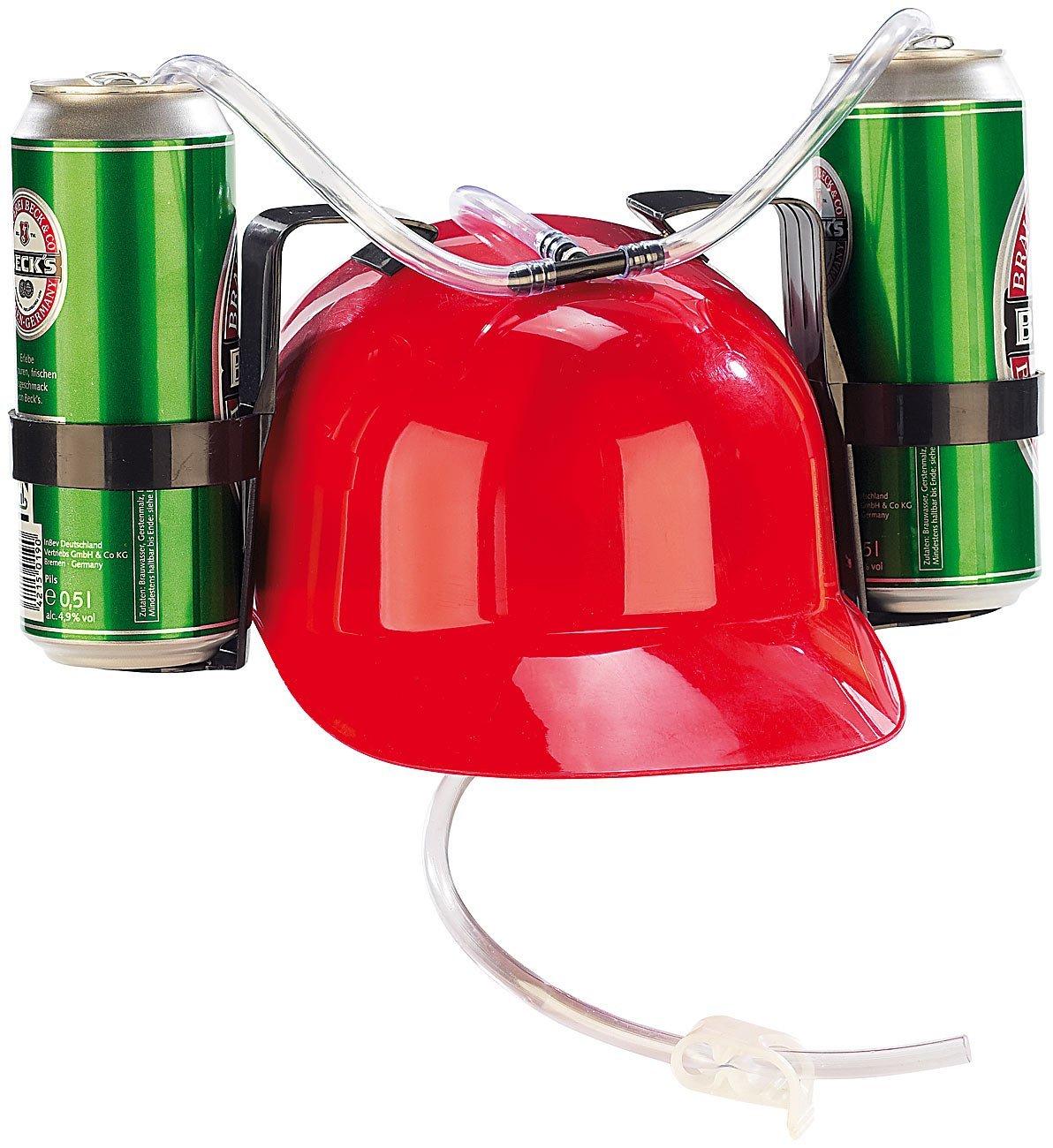 casque-a-boisson-boire-deux-emplacements-rouge