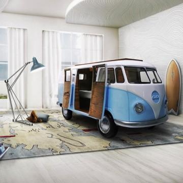 lit-van-volkswagen-enfants-vw-camper-camionette