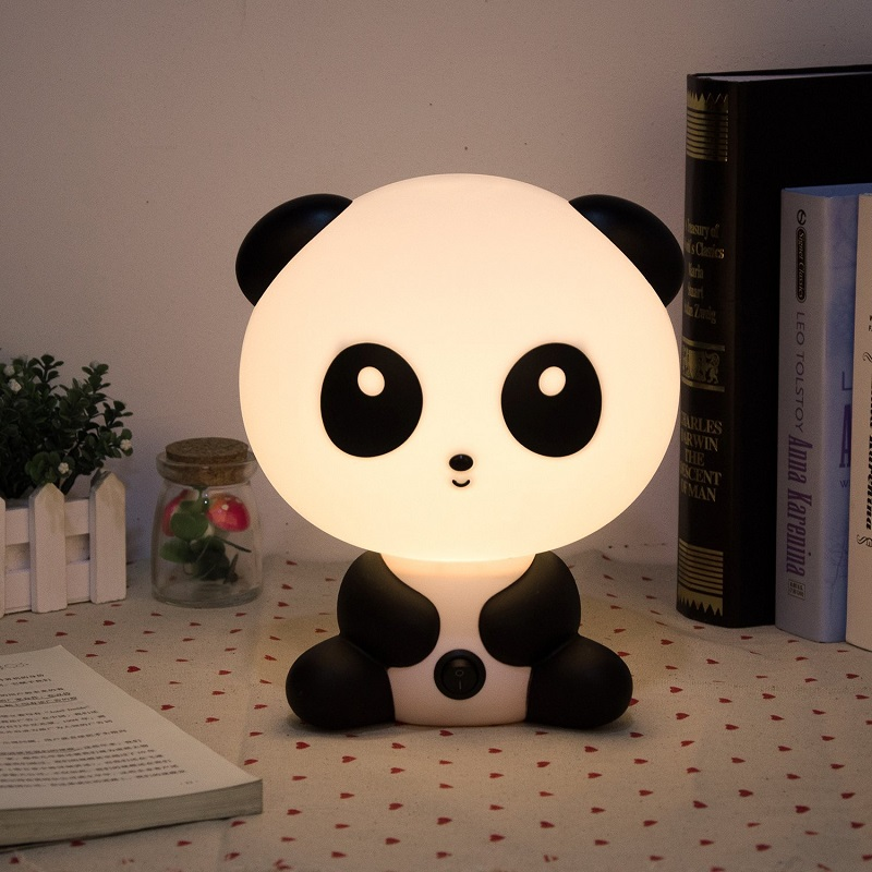 lampe veilleuse panda kawaii avant j 39 tais riche. Black Bedroom Furniture Sets. Home Design Ideas