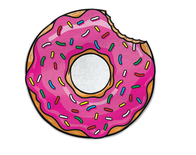 serviette-de-plage-donuts-geant-1