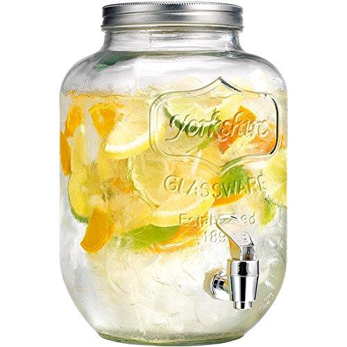 distributeur-fontaine-boisson-verre-vintage
