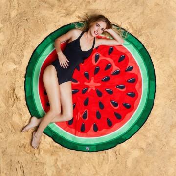 serviette-pasteque-watermelon-towel-plage-bain