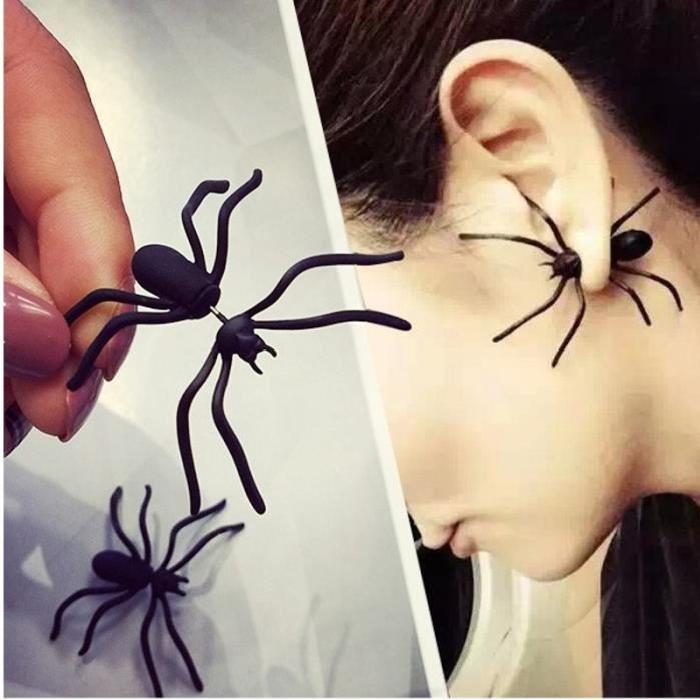 boucle-d-oreille-araignees-halloween-deguisement