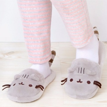 chaussons-pusheen-chat-mignon-kawaii