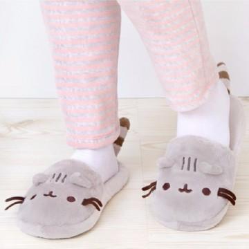chaussons-pusheen-chat-mignon-kawaii