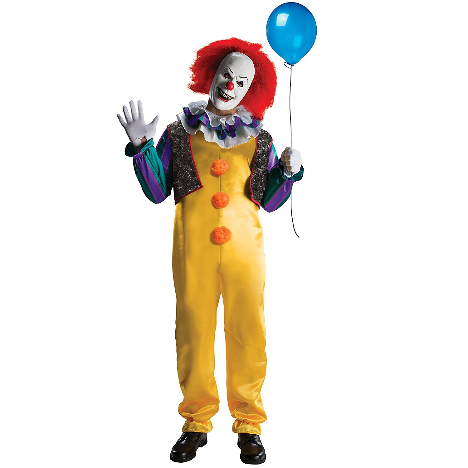Costume de clown a d guisement halloween avant j - Idee deguisement halloween homme ...