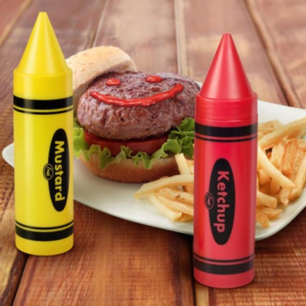 distributeurs-sauce-crayons-ketchup-moutarde