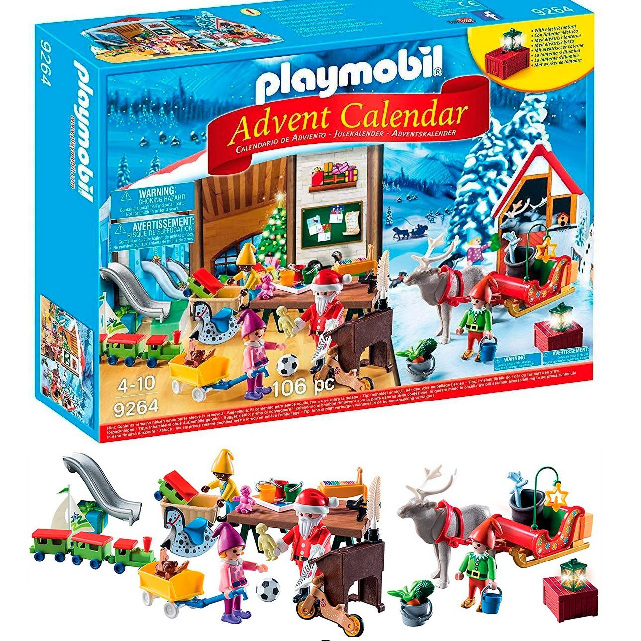Calendrier L Avent Playmobil.Calendrier De L Avent Playmobil Enfants Avant J Etais Riche