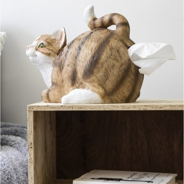distributeur-de-mouchoirs-chat-derrier-cul