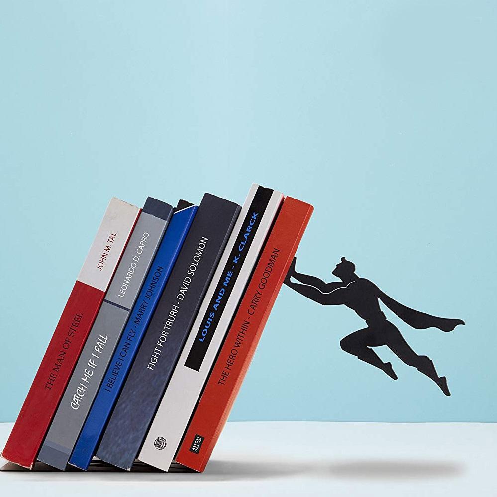 serre-livres-super-heros-geek-superman